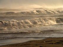 Montañas de ondas?. Imágenes de archivo libres de regalías