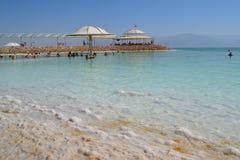 Montañas de Oriente Medio Israel de la sal del mar de DeadSea Imagen de archivo