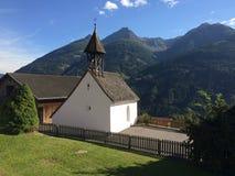 Montañas de Osttirol, dorf Zeldach fotos de archivo libres de regalías