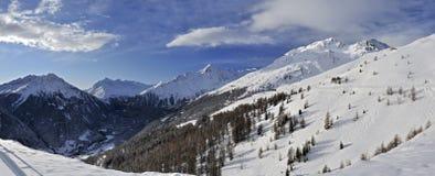 Montañas de Otztal Foto de archivo libre de regalías
