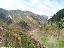 Montañas de Paquistán Foto de archivo libre de regalías