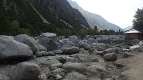 Montañas de Paquistán Fotos de archivo libres de regalías