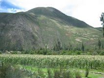 Montañas de Peru stock photos