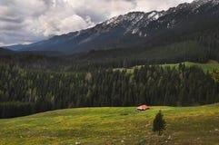 Montañas de Piatra Craiului Fotos de archivo libres de regalías