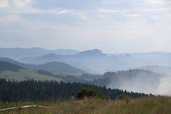 Montañas de Pieniny Fotos de archivo