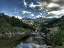 Montañas de Pirin, Bulgaria fotografía de archivo libre de regalías