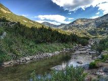 Montañas de Pirin, Bulgaria fotos de archivo