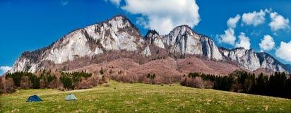 Montañas de Postavaru fotografía de archivo