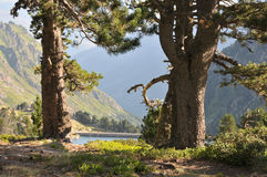Montañas de Pyrenees imagen de archivo libre de regalías