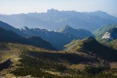 Montañas de Qinling Foto de archivo libre de regalías