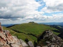 Montañas de Rarau Imagen de archivo