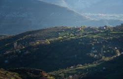 Montañas de Rhodope, Bulgaria Fotos de archivo libres de regalías