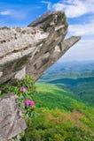Montañas de Ridge azul Imágenes de archivo libres de regalías