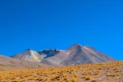 Montañas de Salar Foto de archivo