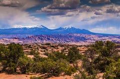 Montañas de Salle del La Fotos de archivo libres de regalías
