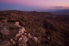 Montañas de San Bernardino Foto de archivo