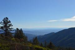 Montañas de San Bernardino Imagen de archivo libre de regalías