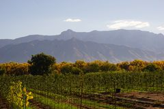 Montañas de Sandia imagen de archivo libre de regalías