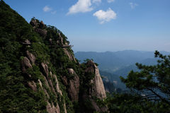 Montañas de Sanqingshan Foto de archivo libre de regalías