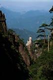 Montañas de Sanqingshan Imagen de archivo