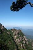 Montañas de Sanqingshan Foto de archivo
