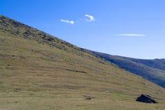Montañas de Sayan Imágenes de archivo libres de regalías