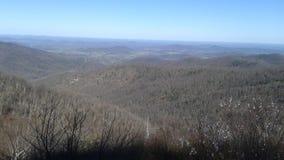 Montañas de Shenandoah fotografía de archivo libre de regalías