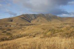 Montañas de Sierra Contreras, parque nacional de Torres del Paine, Chile foto de archivo