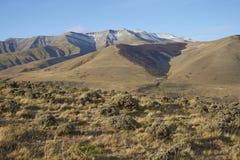 Montañas de Sierra Contreras, parque nacional de Torres del Paine, Chile fotos de archivo