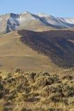 Montañas de Sierra Contreras, parque nacional de Torres del Paine, Chile fotos de archivo libres de regalías