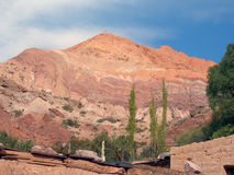 Montañas de siete colores Fotografía de archivo libre de regalías