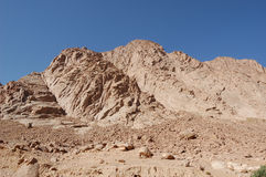 Montañas de Sinaí fotografía de archivo