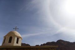 Montañas de Sinaí Foto de archivo libre de regalías