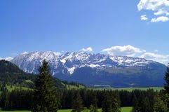 Montañas de Styrian Imagenes de archivo