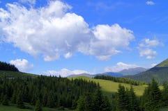 Montañas de Styrian Imagen de archivo libre de regalías