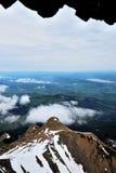Montañas de Suiza, visión desde Pilatus superior Imagenes de archivo