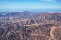 Montañas de Synai Fotografía de archivo libre de regalías