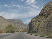 Montañas de Tadzhikistan Fotografía de archivo