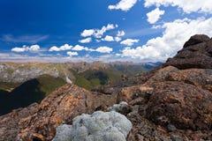 Montañas de Tasman de Kahurangi NP, Nueva Zelandia fotografía de archivo libre de regalías