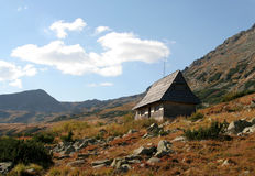 Montañas de Tatra imagenes de archivo