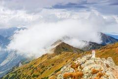 Montañas de Tatra Fotografía de archivo libre de regalías
