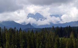 Montañas de Tatra Imagen de archivo libre de regalías