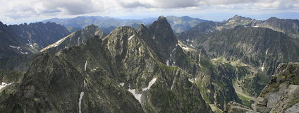 Montañas de Tatra fotos de archivo libres de regalías