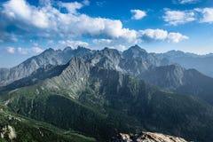 Montañas de Tatra Fotos de archivo