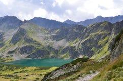Montañas de Tatra en agosto de 2014 Foto de archivo libre de regalías