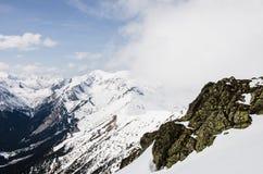 Montañas de Tatra en invierno Fotos de archivo