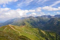 Montañas de Tatras (Polonia) Foto de archivo libre de regalías