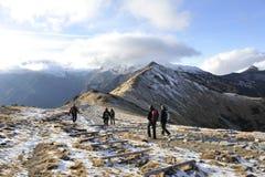 Montañas de Tatry Imágenes de archivo libres de regalías