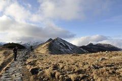 Montañas de Tatry Foto de archivo