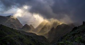 Montañas de Tenerife foto de archivo libre de regalías